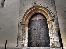 Porta de l'Arxiu Municipal (P. Cerdà, 2015)