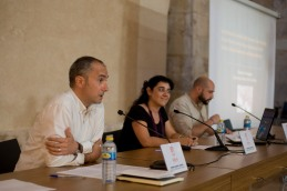 Ramón Aznar, Verònica Zaragoza i Alexandre Vico