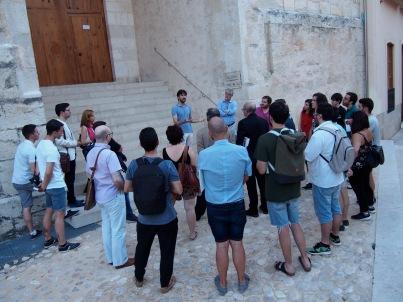 Visita guiada amb Pablo Camarasa
