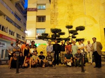 Ponents, comunicants i becaris amb el Monument als Maulets