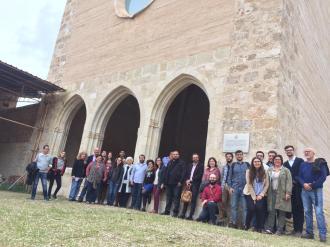 A Sant Domènec, amb la gent del congrés